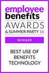 Best use of benefits technology 2016 - Winner